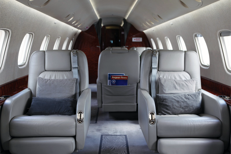 Legacy 600 – Club Seating
