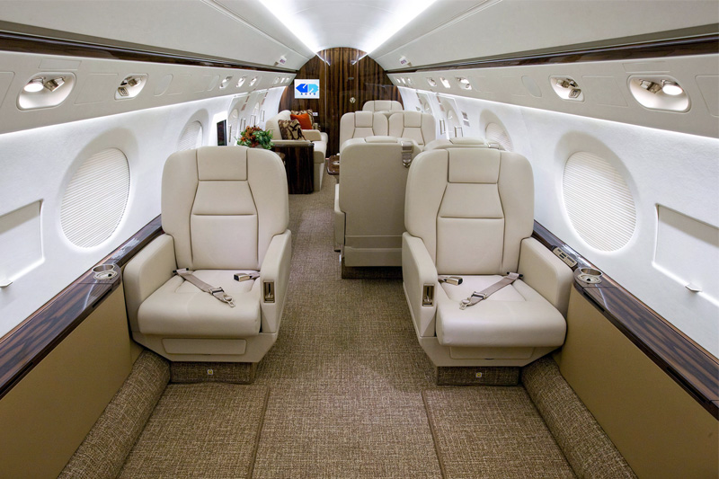 G450 – VIP Seating Options